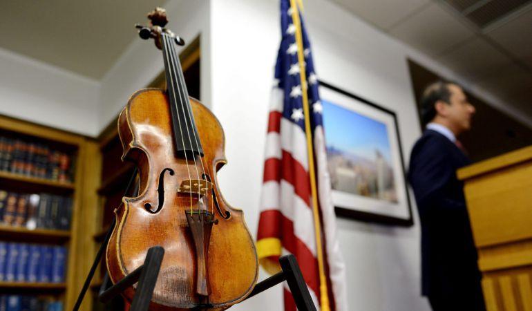 a72dd83e4 Recuperado un Stradivarius único, 35 años después | Cultura | Cadena SER