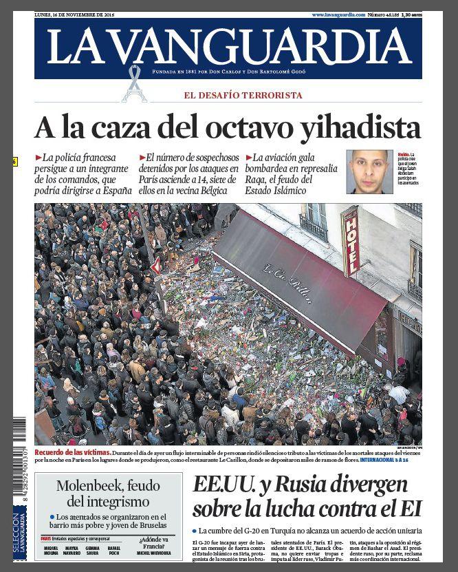 """""""A la caza del octavo yihadista""""."""