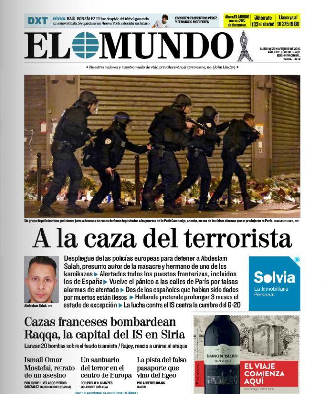 """""""A la caza del terrorista"""""""