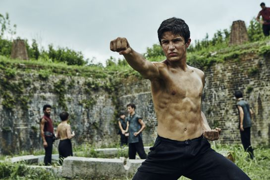 Aramis Knight, otro de los actores de 'Into the badlands'