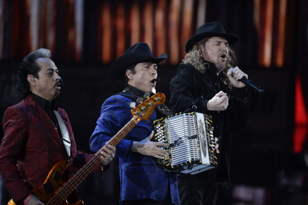 El grupo mexicano Maná.
