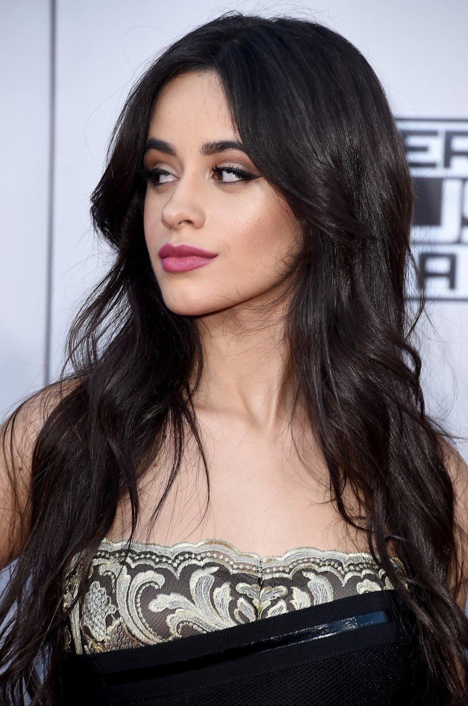 La cantante Camila Cabello, de Fifth Harmony, en los American Music Awards 2015.