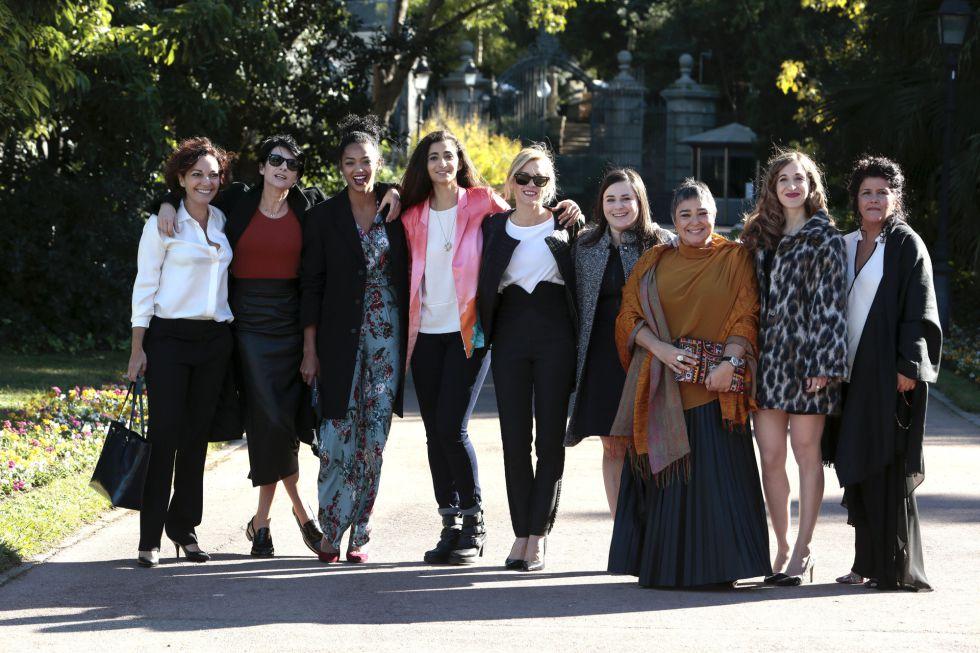 El elenco de actrices de la serie 'Vis a Vis', de Antena 3, han sido galardonadas con el Ondas al mejor intérprete de ficción femenino nacional.