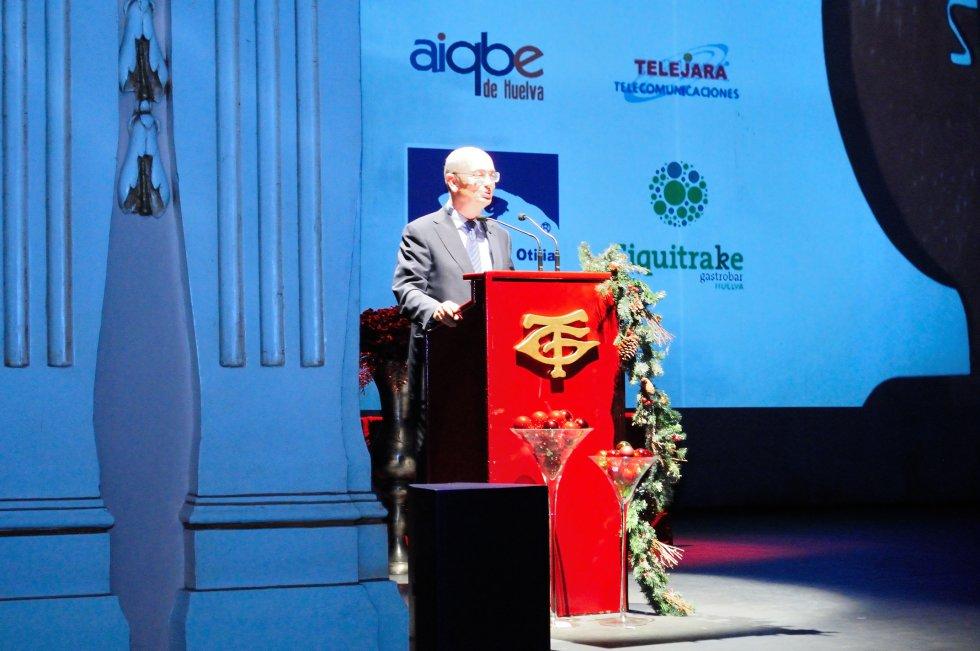 Subdirector adjunto de accion social de la Fundación Cajasol, patrocinador oficial de la gala