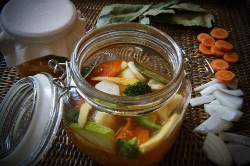 Conserva De Verduras De Invierno En Escabeche Suave Gastronomía En La Cadena Ser Cadena Ser