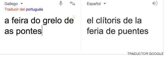 Cuando Google Traductor convirtió los grelos en clítoris.