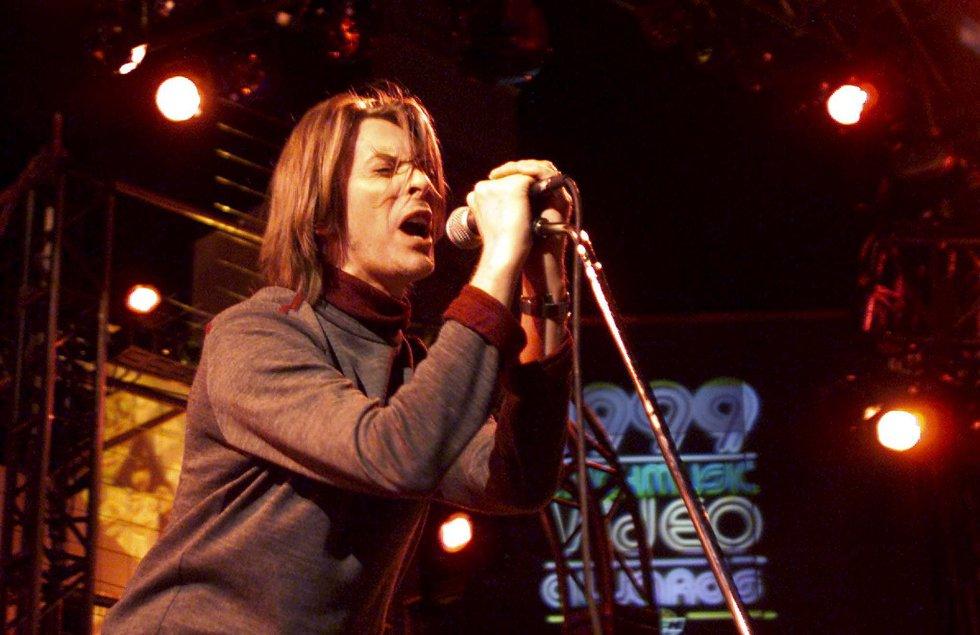 David Bowie, durante los Much Music Video Awards en Toronto (Canadá), el 23 de septiembre de 1999.