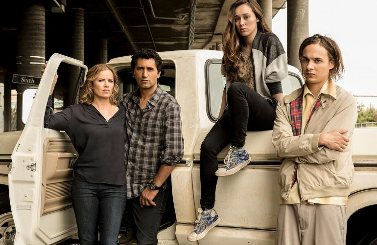 Protagonistas de la serie 'Fear The Walking Dead'
