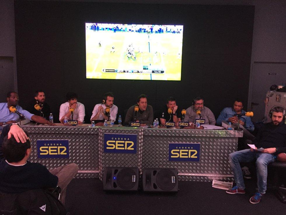 El equipo de la SER para la Super Bowl