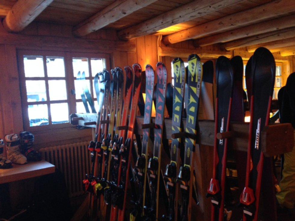 Nuevos esquís de Decathlon para la próxima temporada.