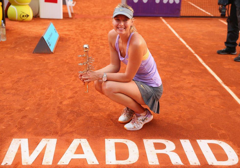Maria Sharapova fue la mejor en el torneo de Madrid celebrado en el año 2014