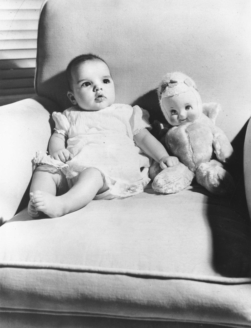 La actriz Judy Garland y el director Vincente Minnelli tuvieron a Liza en 1947