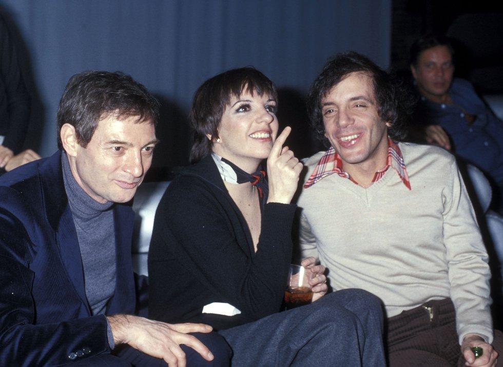 Liza Minnelli en una fiesta en Studio 54, en Nueva York, en 1978