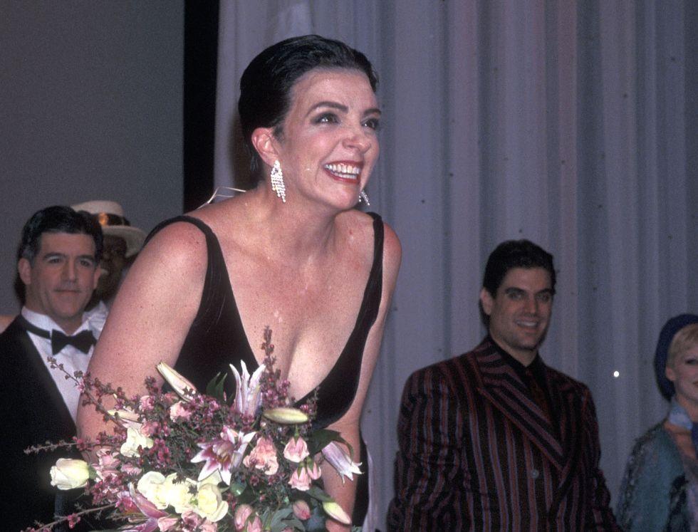 Liza Minnelli en el estreno en Broadway del musical 'Victor/Victoria' en enero de 1996