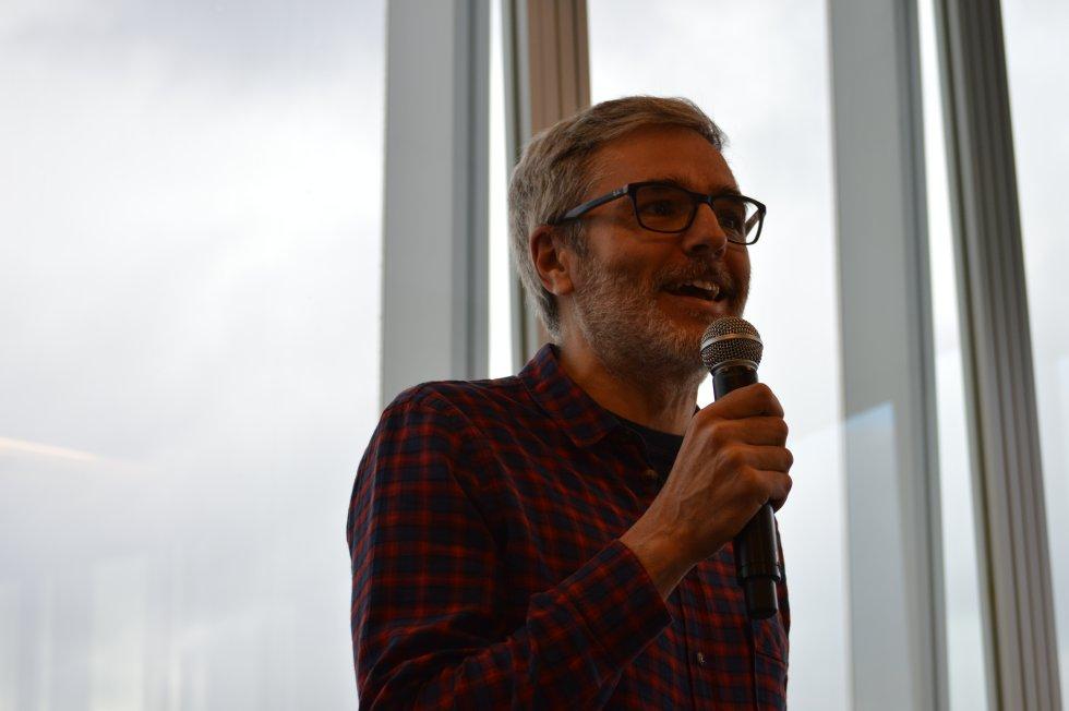 Mikel Iturriaga, crítico gastronómico y periodista