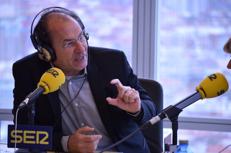 Eugenio Ampudia, creador del nuevo proyecto que ilumina la Torre Iberdrola
