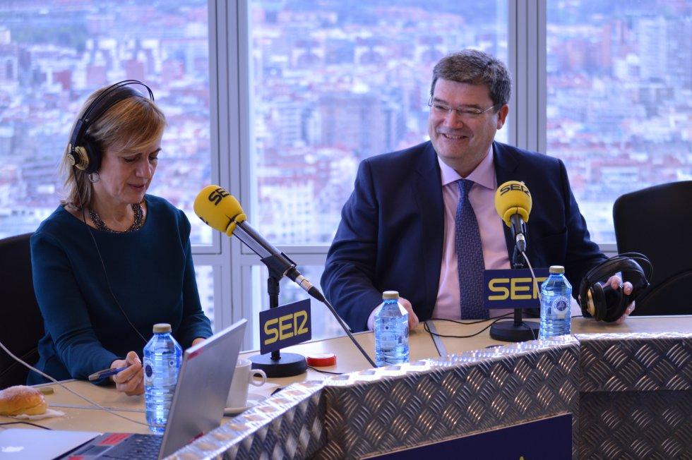 El alcalde de Bilbao en Hoy por Hoy con Gemma Nierga