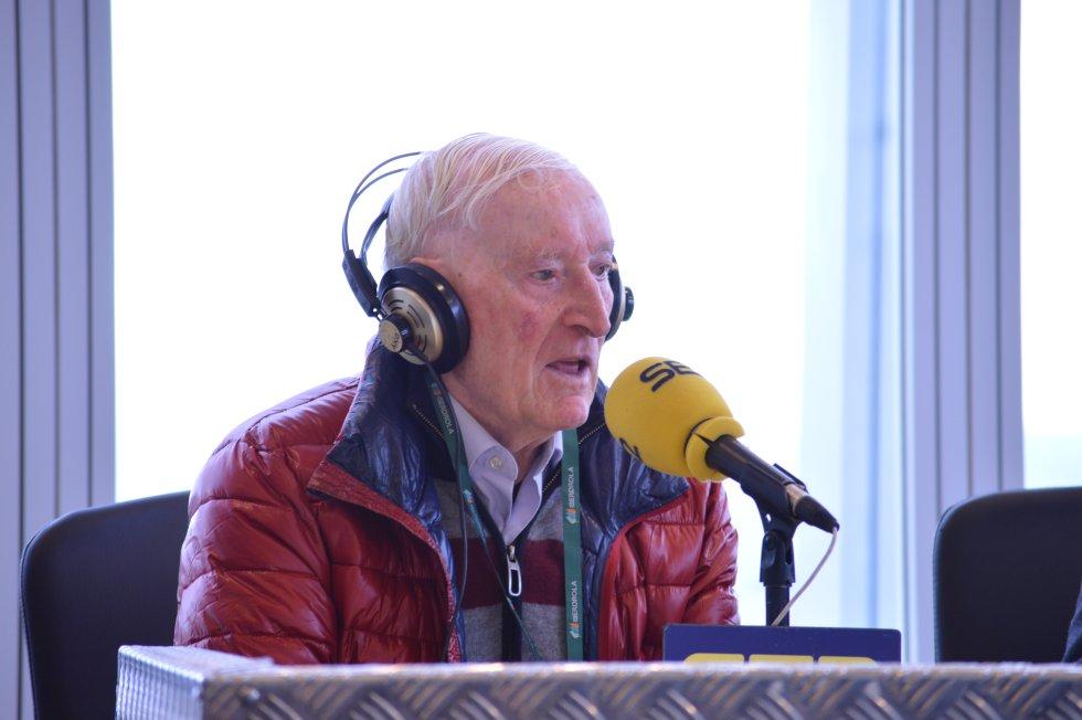 Fortunato Vencedor, amante del running a sus 87 años, en Hoy por Hoy