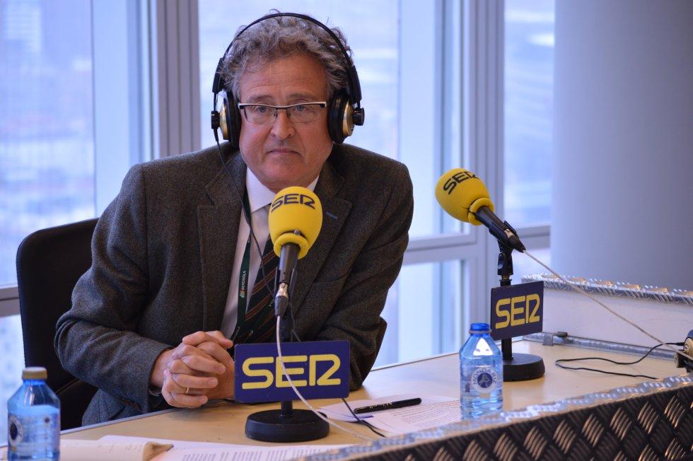 Tomás Arrieta, presidente del Consejo Vasco de Relaciones Laborales en Hoy por Hoy