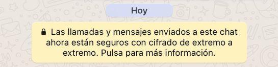 Whatsapp Cifrado De Extremo A Extremo De Whatsapp Las 7 Claves