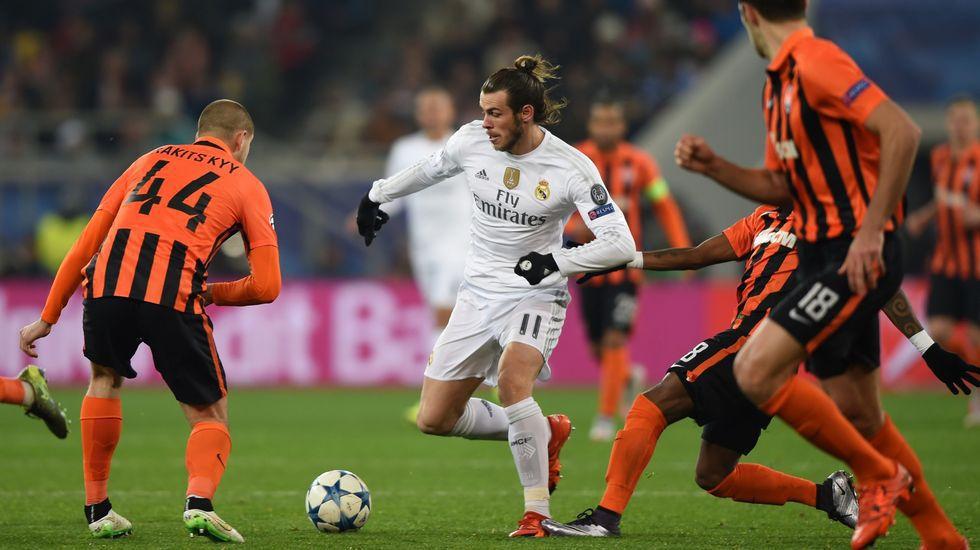El Real Madrid ganaba 0-4 en Ucrania y terminó pidiendo la hora para firmar una victoria por 3-4