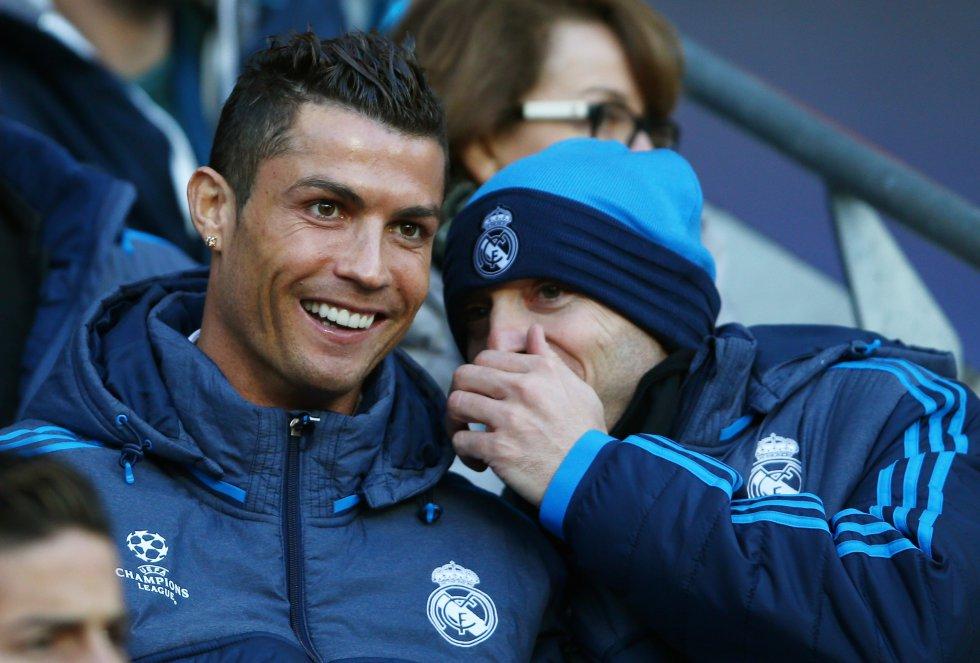 La ausencia de Cristiano Ronaldo por lesión en el partido de ida en Mánchester fue una baja muy sensible para el Real Madrid