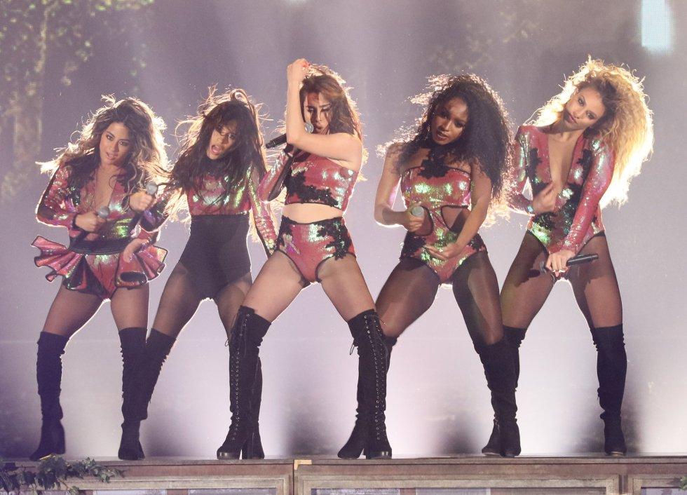 Ally Brooke, Dinah-Jane Hansen, Camila Cabello, Normani Hamilton y Lauren Jauregui de 'Fifth Harmony'.