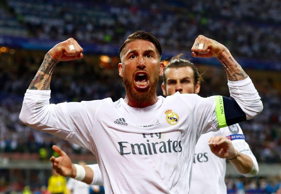 La furia de Ramos tras hacer el primero de la final