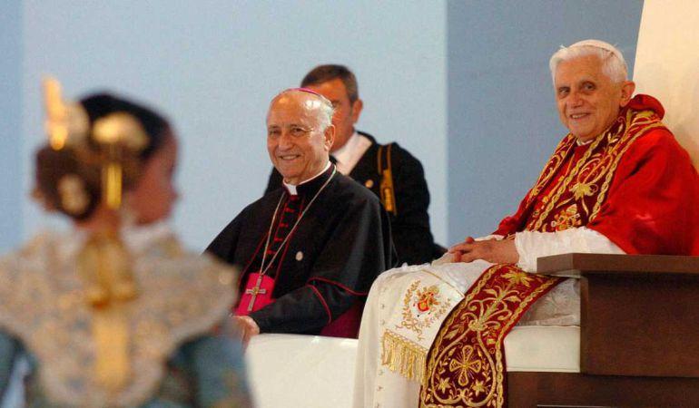 Visita de Benedicto XVI a Valencia