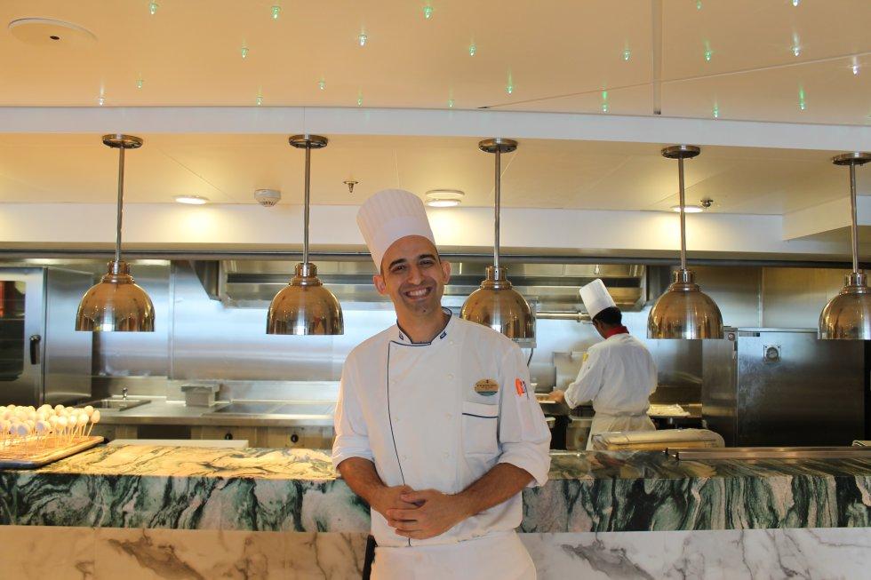 Alan Gentile, chef de 'Wonderland', el restaurante más innovador del 'Harmony...'