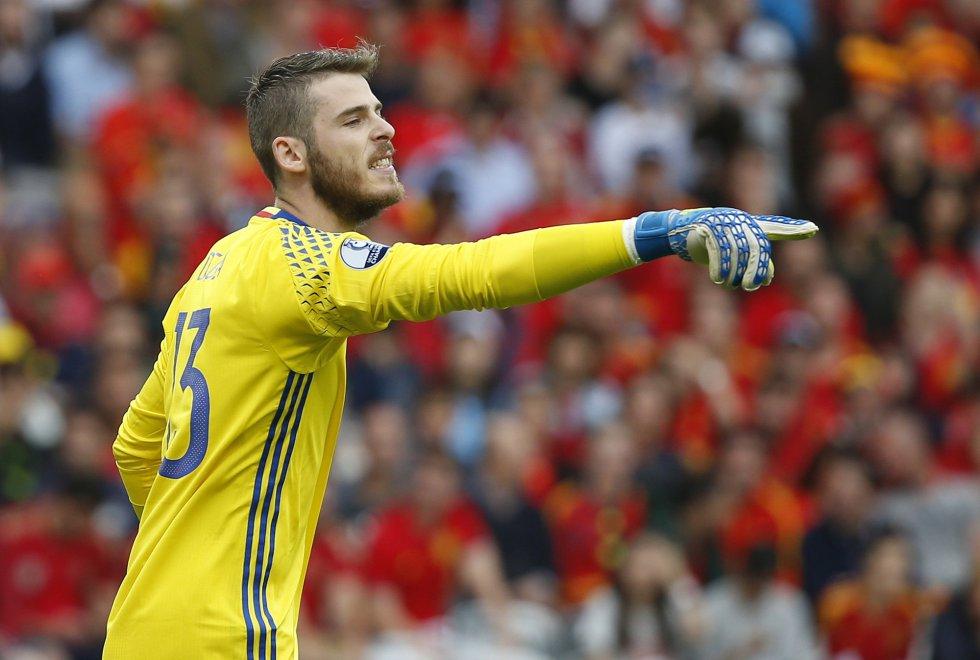 David De Gea, portero titular de la selección española.