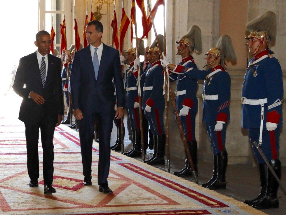Esta es la primera visita oficial de Barack Obama a España
