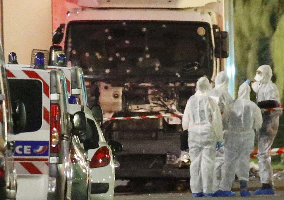 El ataque en Niza, en imágenes