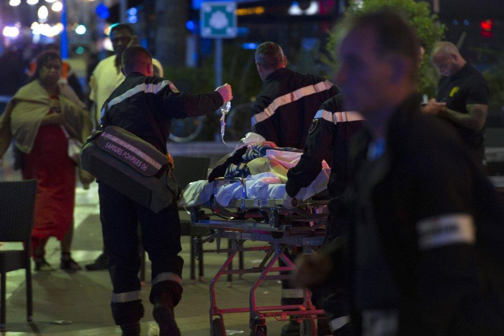 Al menos 84 personas han muerto y un centenar han resultado heridas