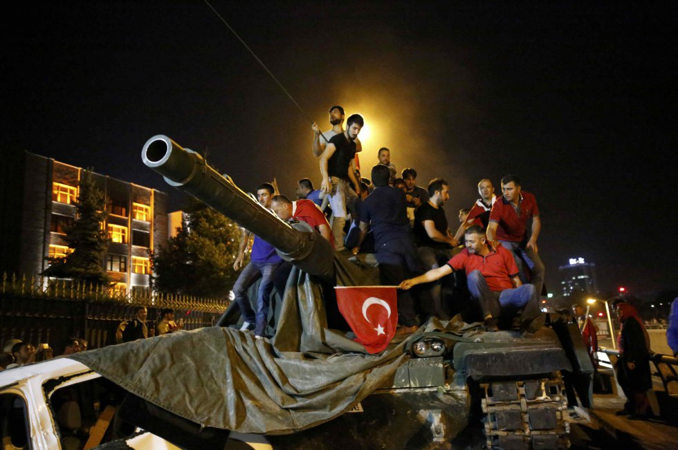Intento de golpe de Estado en Turquía