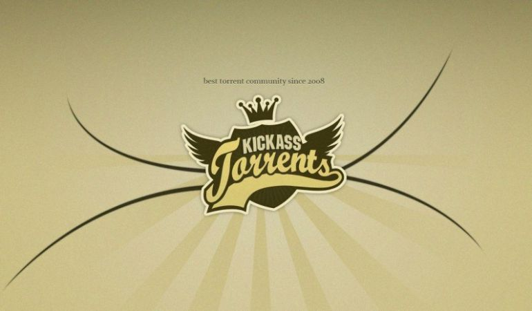 Logotipo de Kickass Torrents.