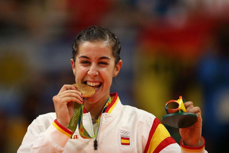 Carolina Marín consigue un oro olímpico histórico   Últimas noticias de  Deportes   Cadena SER