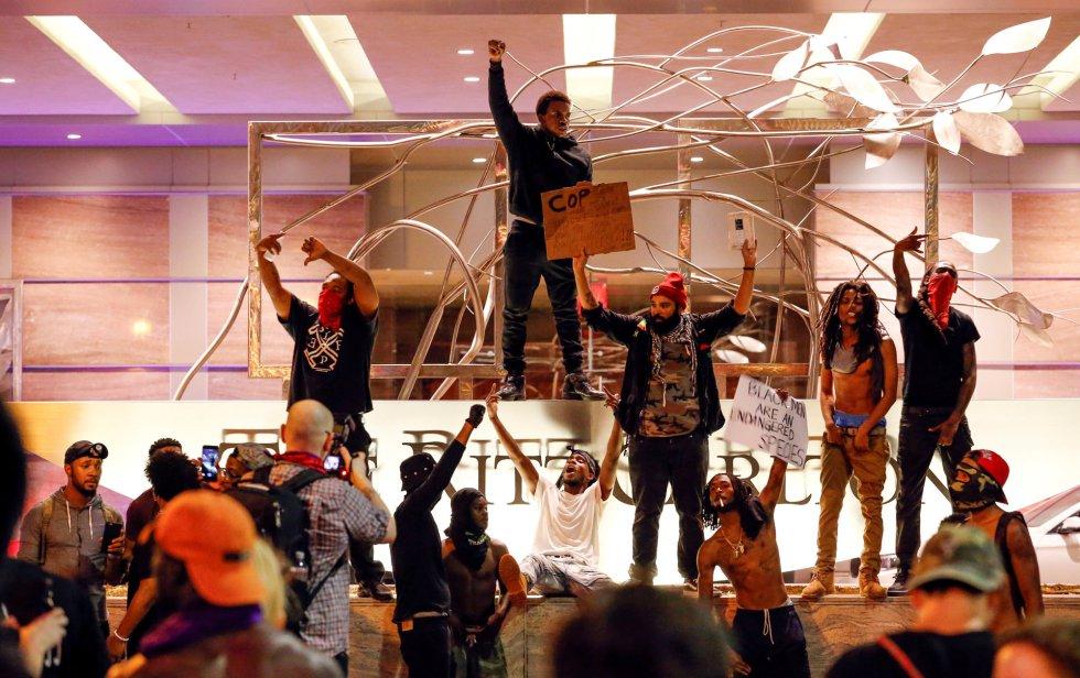 Disturbios raciales en Charlotte (EEUU).