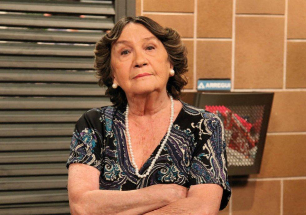 Amparo Valle dio vida a Justi, la autoritaria madre de Amador, en la quinta temporada de 'La que se avecina' (2011, 2013 y 2014).