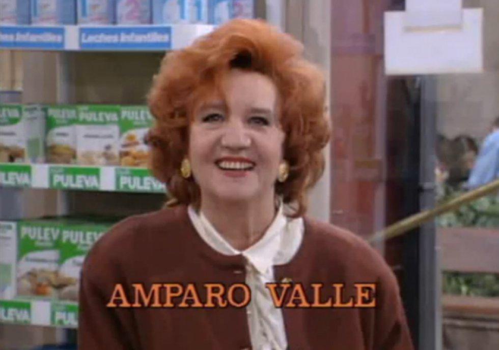 Amparo Valle en la cabecera de 'Farmacia de guardia'.