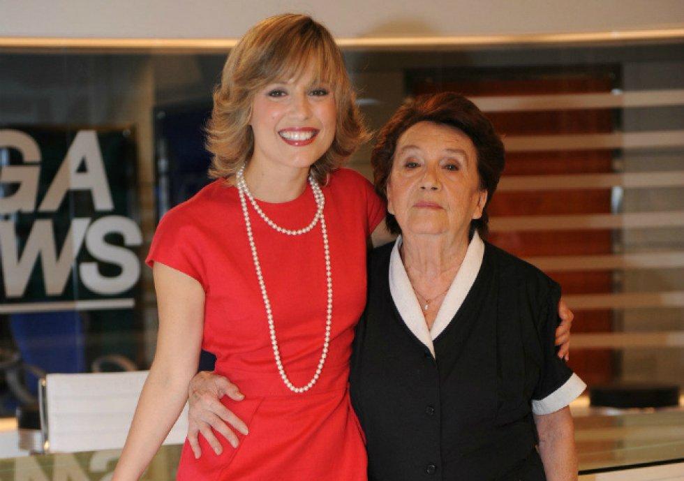 La actriz también participó en la adaptación española de la telenovela 'Los exitosos Pells' (2009).