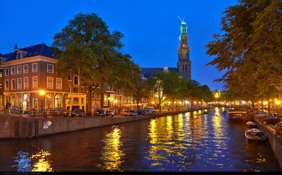 Con 8 millones de visitantes, Amsterdam es la quinta ciudad europea con más turistas.
