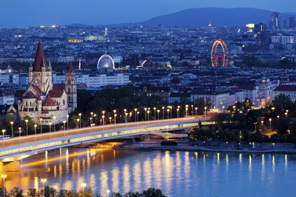 Los 6,69 millones de visitas establecen a la ciudad de Viena como la octava más visitada de Europa.