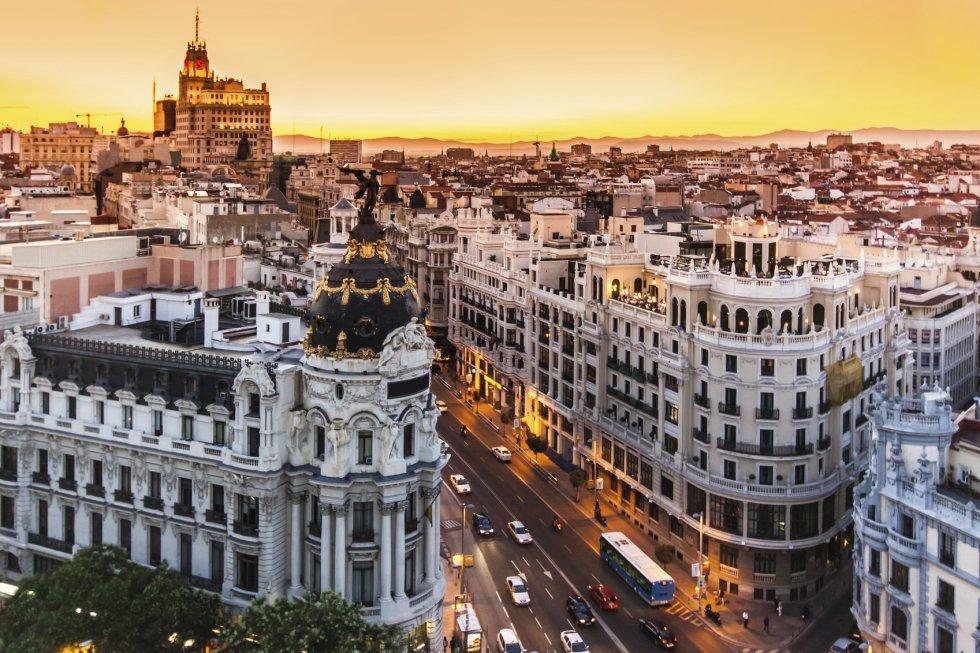 Madrid es la décima ciudad más visitada de Europa gracias a sus 5,26 millones de visitantes.