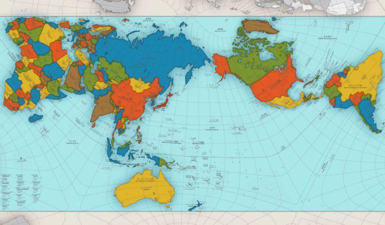 El Mundo No Es Como Creias Asi Es El Mapa Que Mejor Representa La