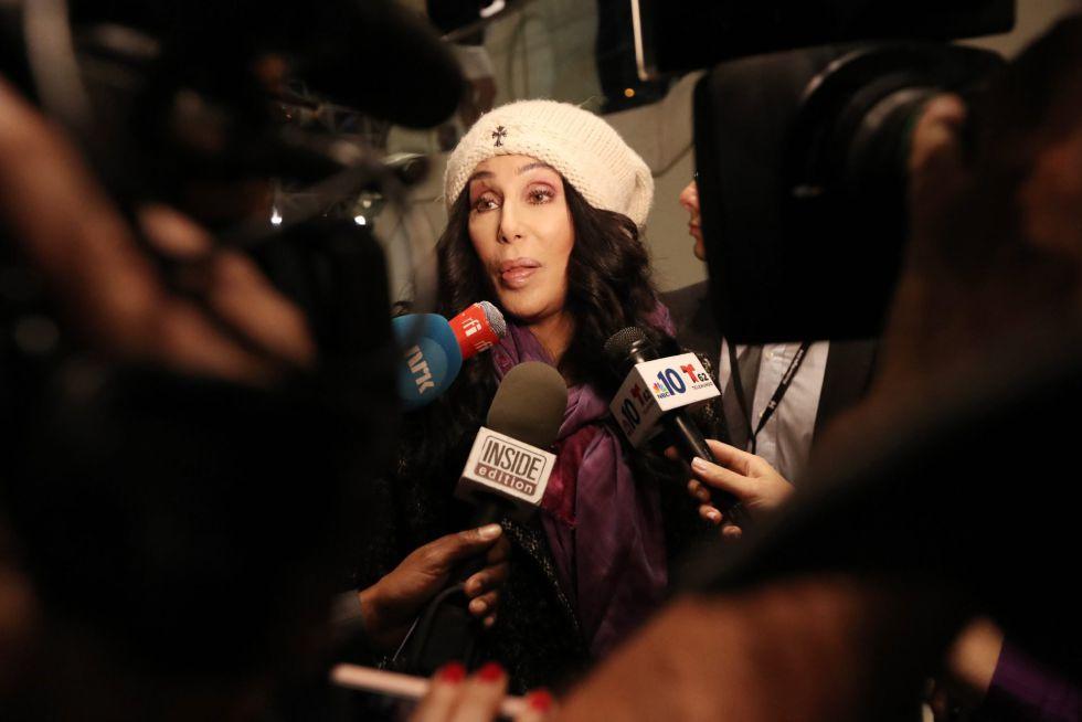 Cher admitió en verano que, en caso de que ganara Trump, se mudaría a Jupiter a través de un tuit.