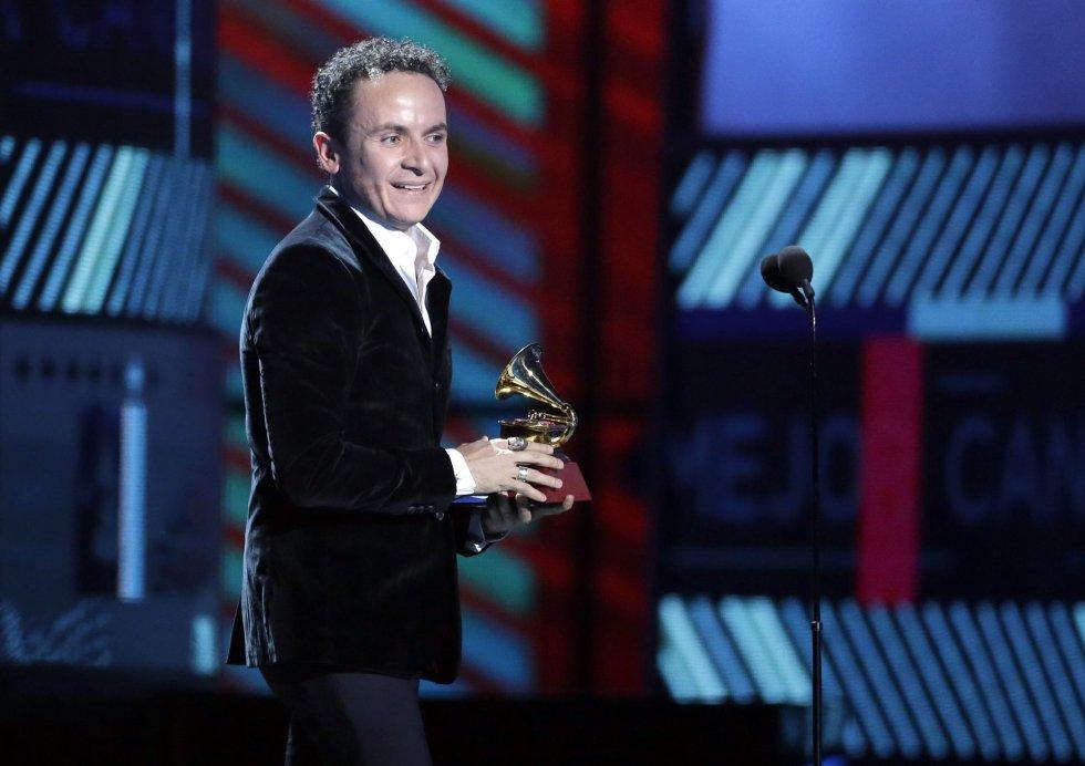 Fonseca, premio a Mejor Álbum Cumbia y Vallenato.