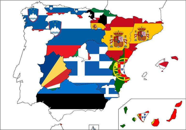 Mapa Economico De España.Los 17 Paises Que Tienen Un Nivel De Bienestar Similar A