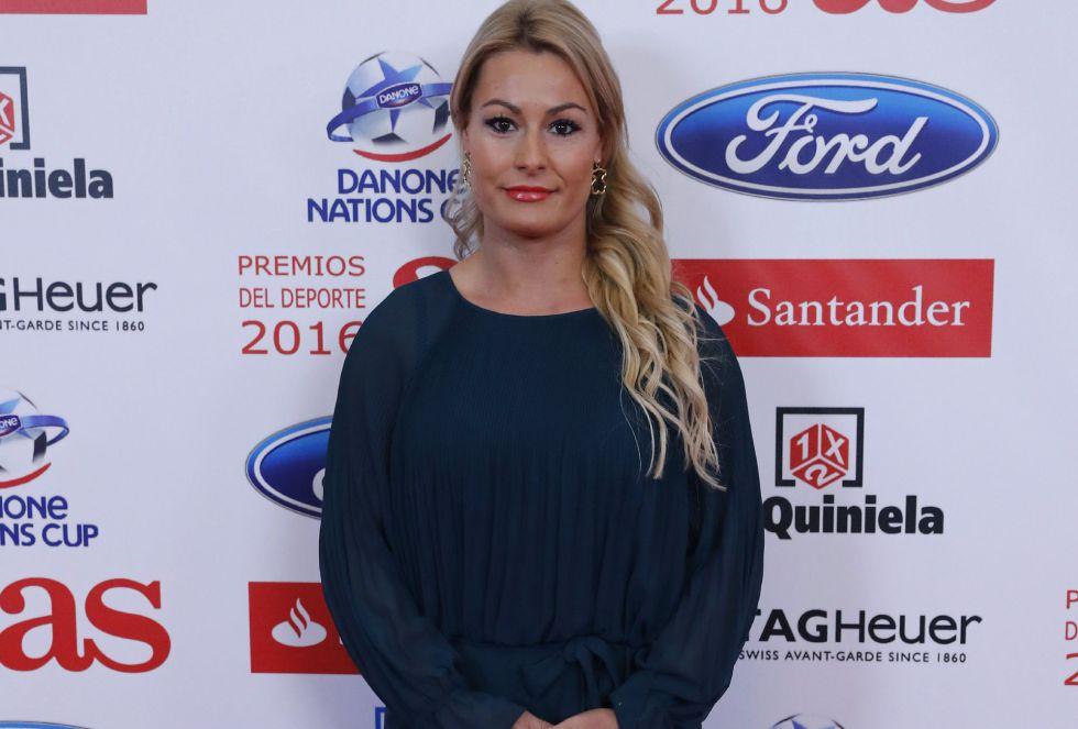 La deportista Lidia Valentín también asistió a la Gala