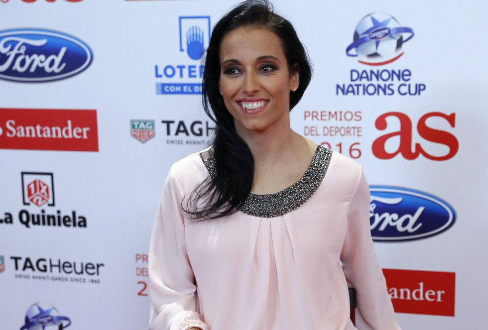 La deportista paralímpica Teresa Perales, en la gala